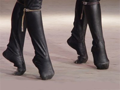Обувь для танца лезгинка
