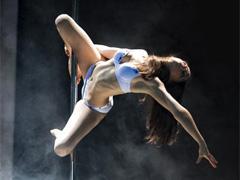 Pole dance – импровизация