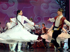 Татарский танец - обувь