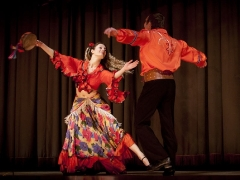 Подбор женской и мужской одежды для цыганского танца
