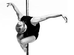Pole Dance - волосы