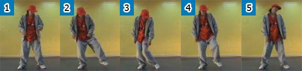 Схема хип хоп движений