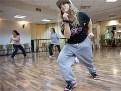 Как танцуют хип-хоп девушки - видео
