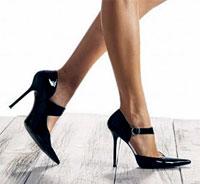 Шафл на каблуках