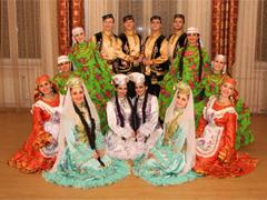 Татарский танец - как танцевать правильно