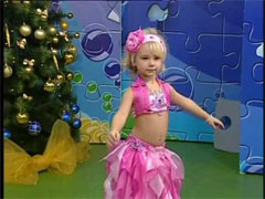 Ангелина Галушкина - танец живота в 5 лет