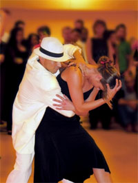 Парный танец бачата