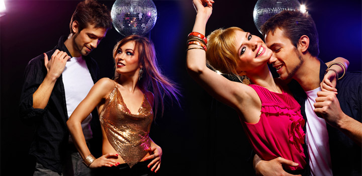 Сексуальные движения на дискотеке