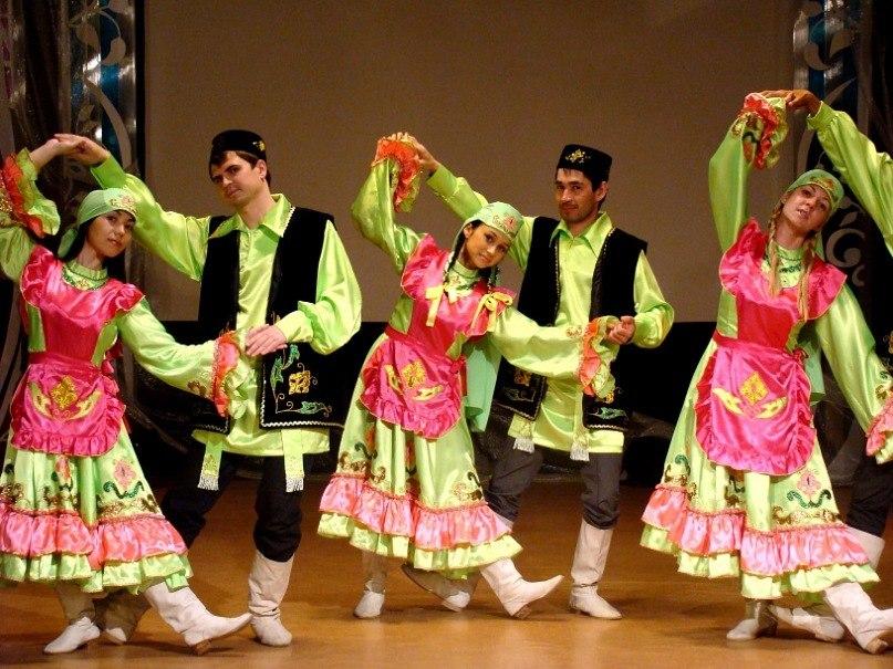 Картинка татарского танца